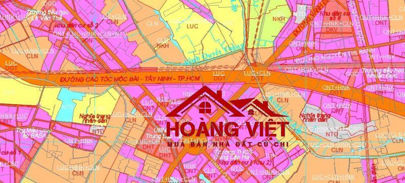 Bản đồ chi tiết Cao Tốc Mộc Bài - Tây Ninh
