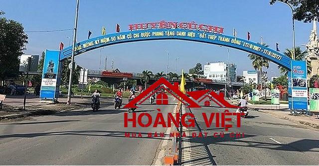 Huyện Củ Chi nằm ở khu vực Tây Bắc TP HCM