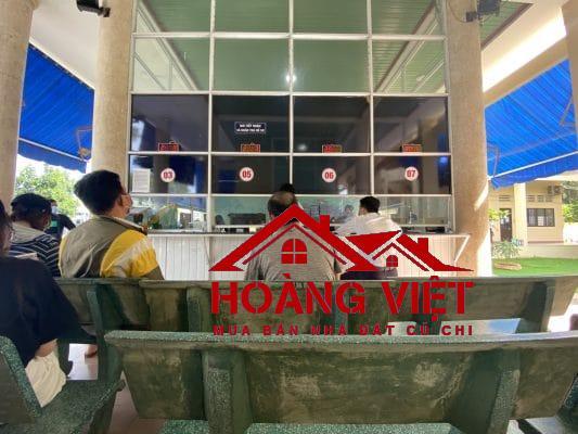 Văn phòng đăng ký đất đai huyện Củ Chi