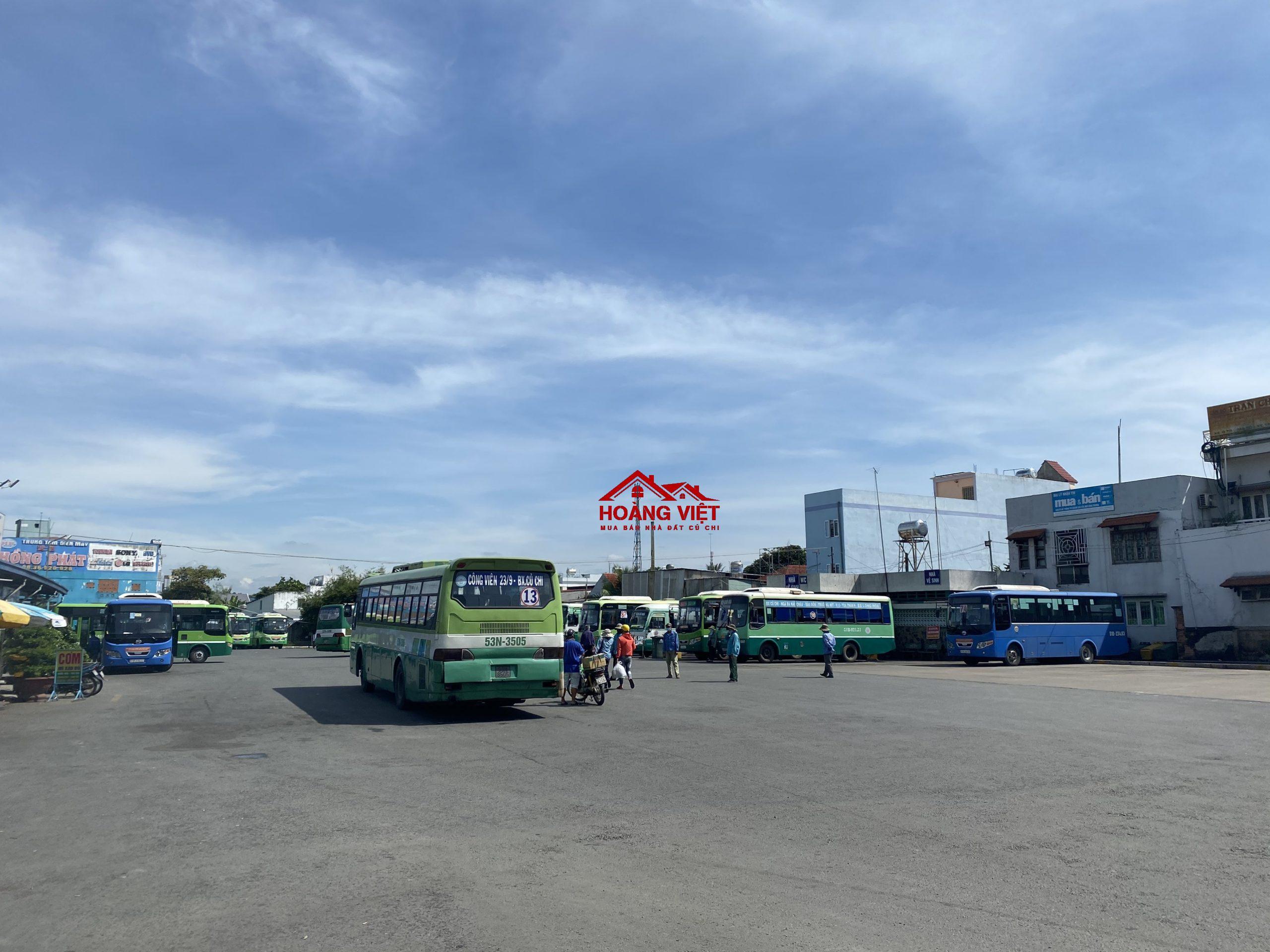 Nhiều tuyến xe hoạt động tại bến xe Củ Chi