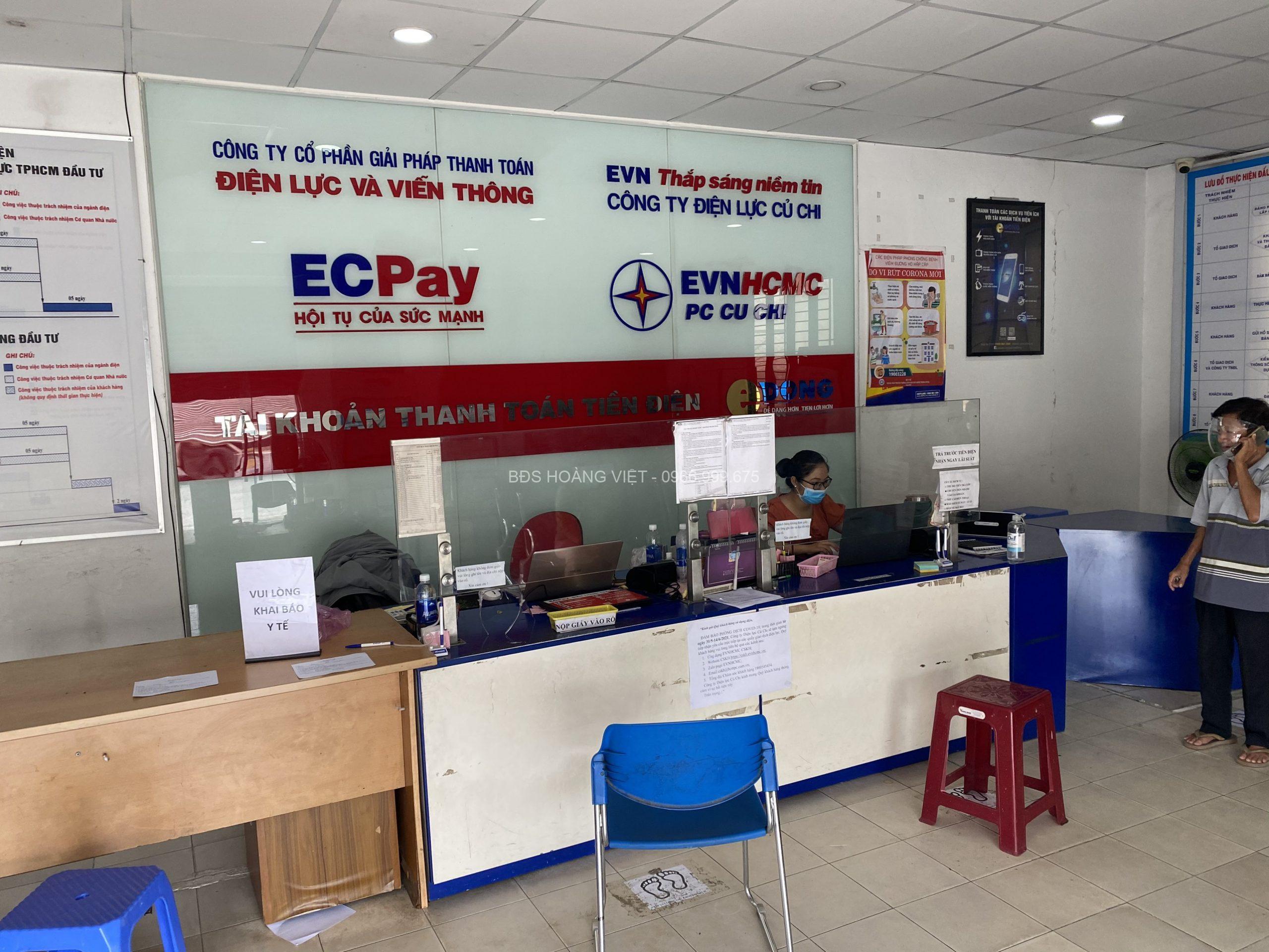 Văn phòng giao dịch điện lực Củ Chi