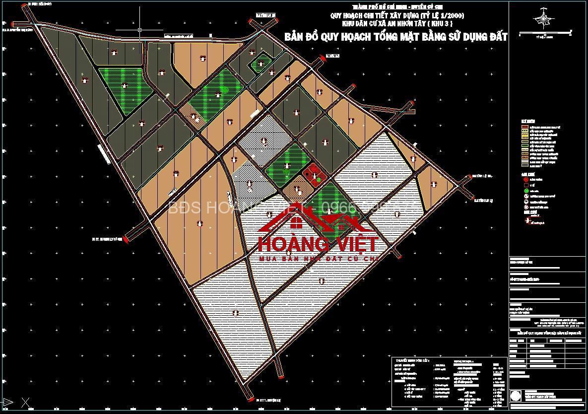 Xem quy hoạch Củ Chi giúp giảm thiểu rủi ro khi mua đất