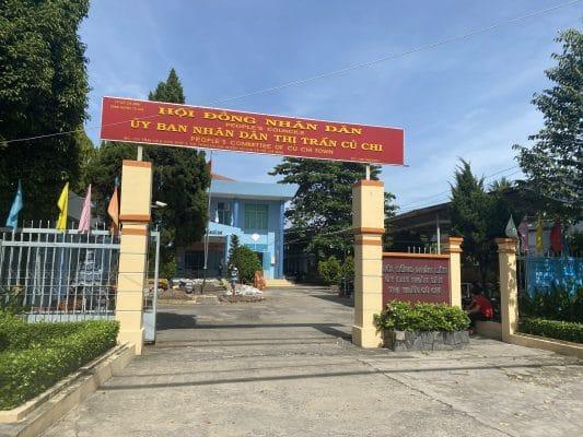 Phòng tài nguyên môi trường huyện Củ Chi