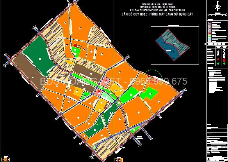 Pháp lý quy hoạch mới nhất xã Tân Phú Trung