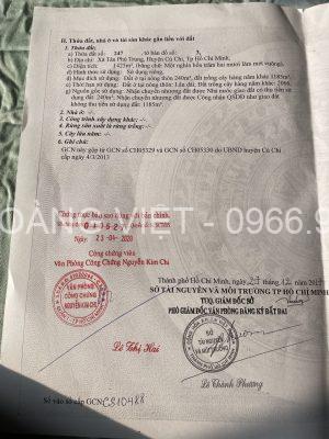 bán đất xã tân phú trung đường 89