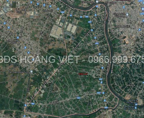 Xã Bình Mỹ huyện Củ Chi theo Google Map